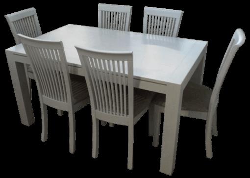 coastal white wash dining table coastal design furniture