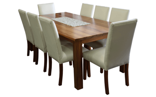 COASTAL DESIGN FURNITURE - Blackwood Dining Table