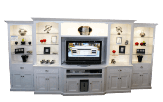 Coastal Design Furniture - Coastal White Wall Unit