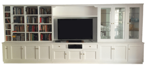 Coastal Design Furniture - Large White Wall Unit
