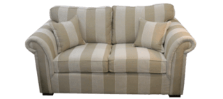 Coastal Design Furniture - Stripe Two Seater Lounge - Thin