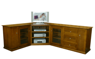 Coastal Design Furniture - 3 Piece Corner TV Unit