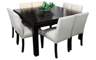 Coastal Design Furniture - 9PC square dining table