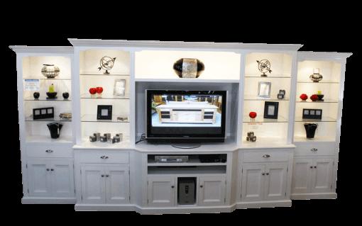 Coastal Design Furniture - Coastal White Wall Unit