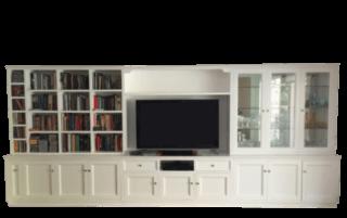 Coastal Design Furniture - Large White Wall Unit