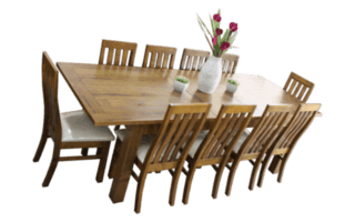 Coastal Design Furniture - RUSTIC EXT DINING