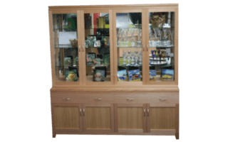Coastal Design Furniture - Tassie Oak Display Unit