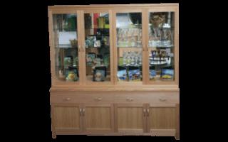 Coastal Design Furniture - Tassie Oak Display Unit