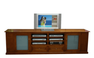 Coastal Design Furniture - Tassie Oak TV Unit
