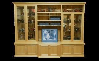 Coastal Design Furniture - Tassie Oak Wall Unit