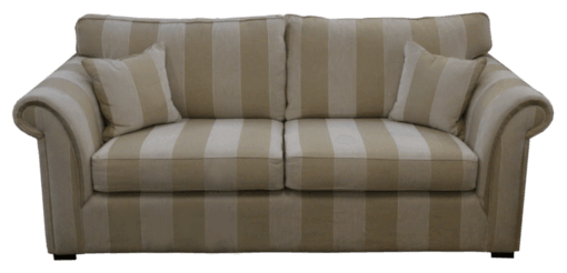 Coastal Design Furniture - Two Seater Lounge Stripe wide