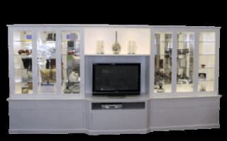 Coastal Design Furniture - White Wall and TV Unit