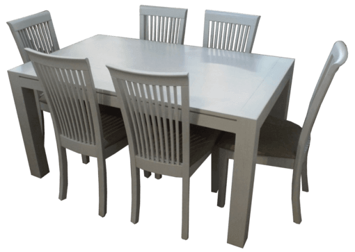 Coastal Design Furniture - White Wash Dining Table