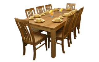 Coastal Design Furniture - Blackbutt Dining Table