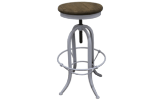 Industrial Stool Without Back